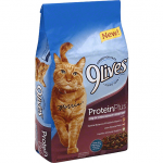 9 LIVES CAT FOOD, PROTEIN PLUS, WITH THE FLAVORS OF CHICKEN & TUNA