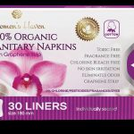 100% ORG SANITARY NAPKINS W GRAPHANE
