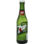 7 UP SODA GLASS BOTTLE 12.OZ