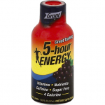 5 HOUR ENERGY ENERGY SHOT, REGULAR STRENGTH, GRAPE