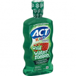 ACT KIDS FLUORIDE RINSE, ANTICAVITY, WILD WATERMELON 16.9oz