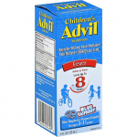 ADVIL FEVER, CHILDREN'S, SUSPENSION, BLUE RASPBERRY! 4.oz