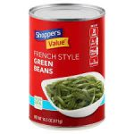 SHOPPERS VALUE GREEN BEANS, FRENCH STYLE