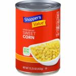 SHOPPERS VALUE CORN, SWEET, WHOLE KERNEL