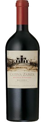 2014 Bodegas Catena Zapata Malbec Nicasia Vineyard