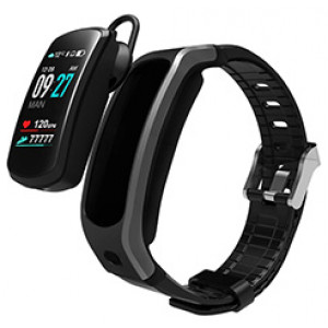 TalkBand B6 Bluetooth Bracelet Headset Talking Smart watch Band Android iOS Heart Rate Monitor Sport smart wristband calling