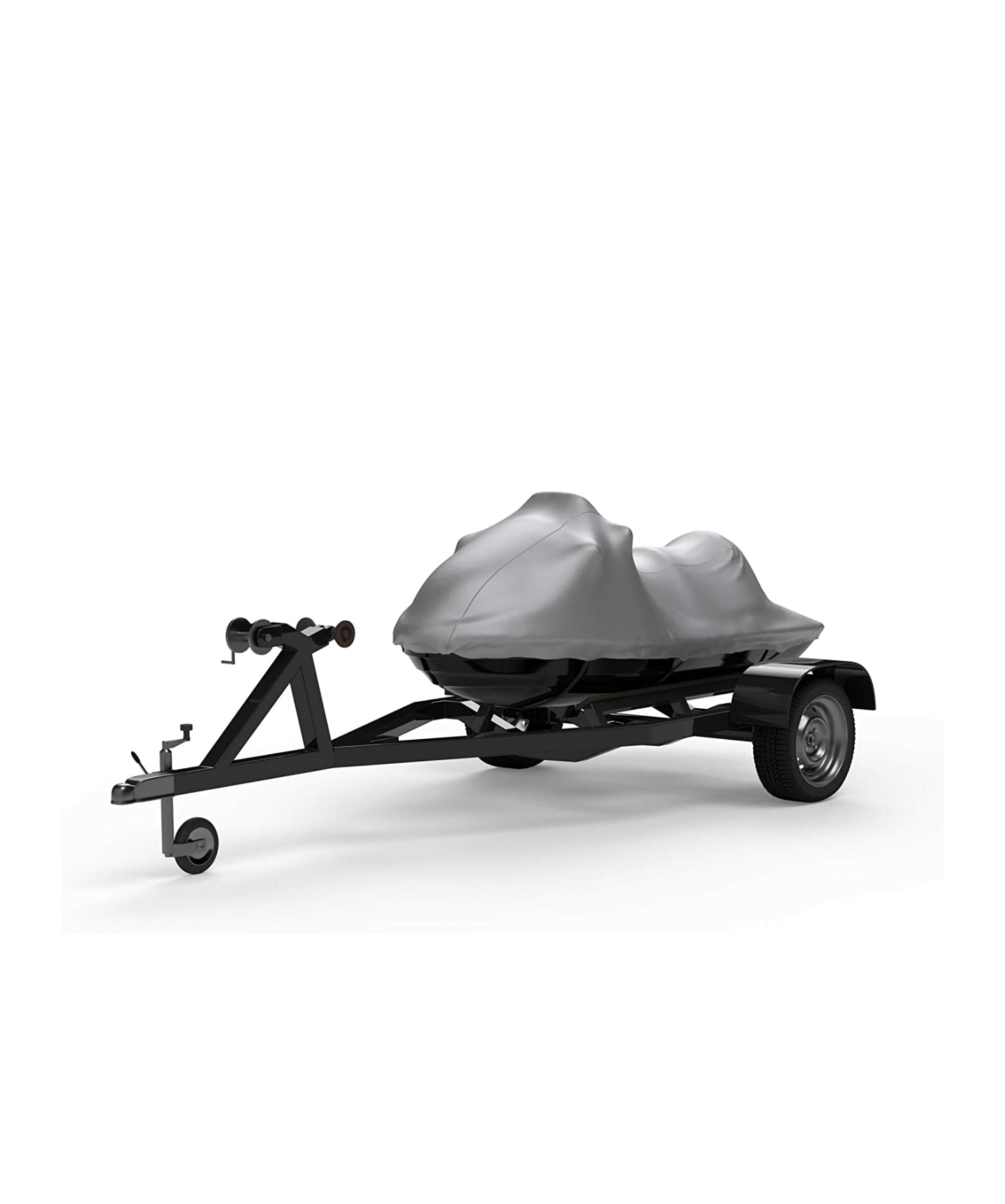 Weatherproof Jet Ski Covers for SEA DOO GTR-X 230 2017-2019 – Silver – Sun Protection – All Weather – Trailerable – Protects from Rain, Sun, and More! Includes Trailer Straps & Storage Bag