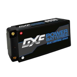 DXF Lipo Battery 2S Shorty 7.6V 6300mah 130C 260C 4mmGraphene Bullet Competition Short-Pack for RC 1/10 Buggy Truck Car