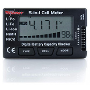 Tenergy 5-in-1 Battery Meter