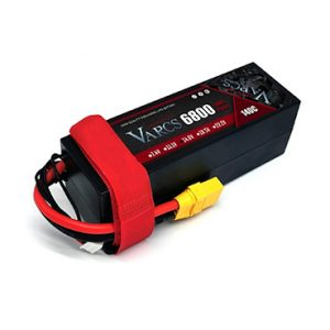 1PCS VARCS  Lipo Batteries 4S 14.8V 6800mAh 140C/280C HardCase for RC 1/8 /10 Car Off-Road Buggy Truck Boats