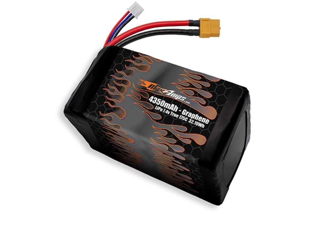 Graphene LiPo 4350 2S 7.4v Battery Pack