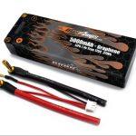 Graphene LiPo 2S 5000 7.4v Hard Case Battery Pack XT90 PLUG
